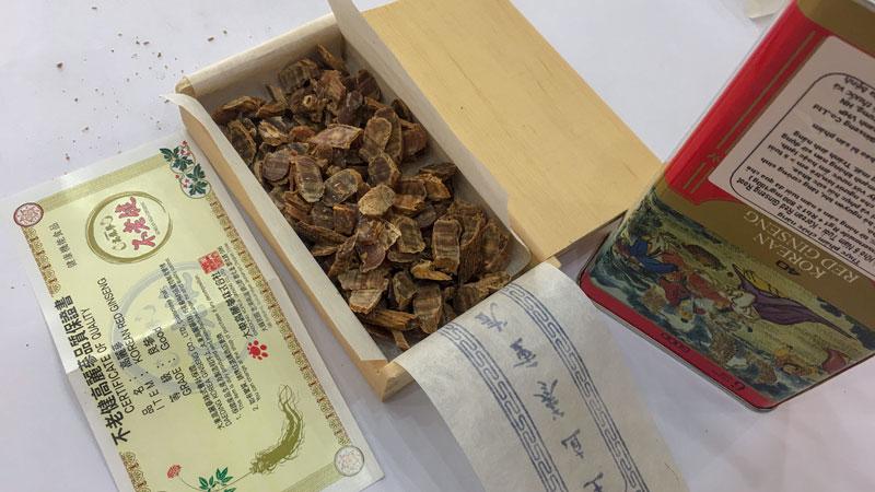 Hồng sâm củ khô - sâm sắt Daedong Hàn quốc