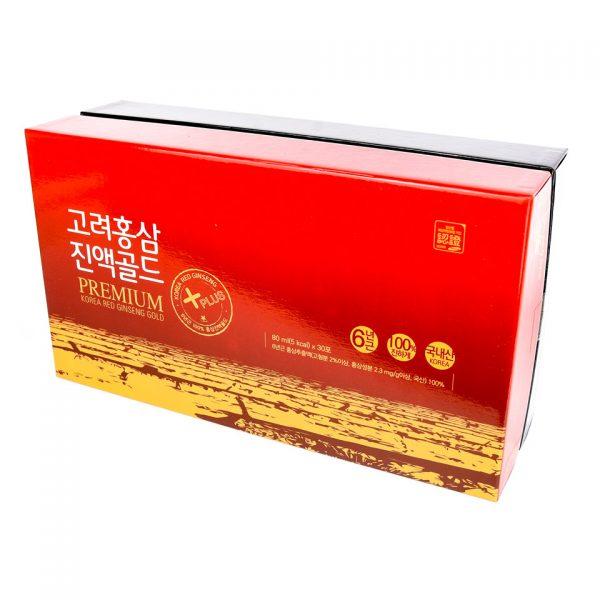 Nước hồng sâm 100% 30 gói 80ml Daedong Hàn quốc