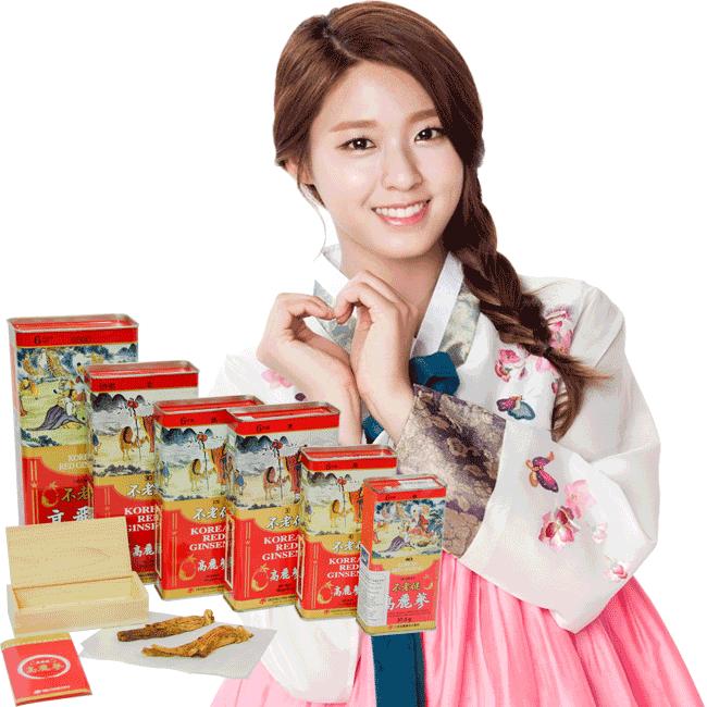 Đại tiệc hồng sâm củ khô Daedong