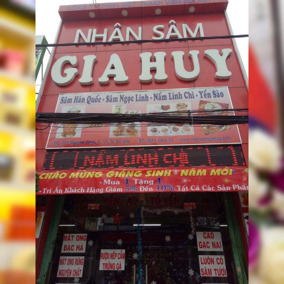 Nhân sâm Gia Huy - TP Hồ Chí Minh