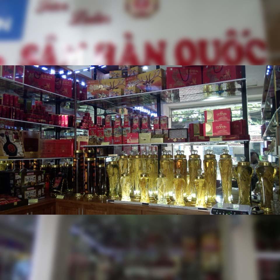 Cửa hàng sâm hàn quốc sơn liên hòa bình