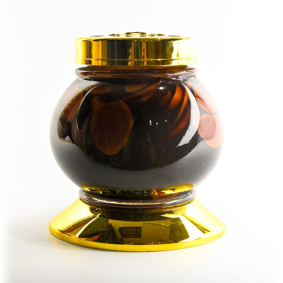 Sâm tươi thái lát ngâm mật ong