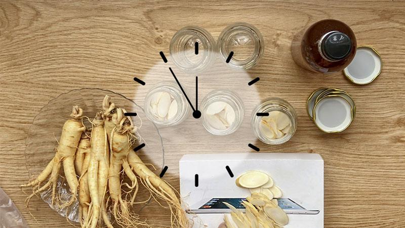 Uống sâm ngâm mật ong vào lúc nào là tốt nhất?