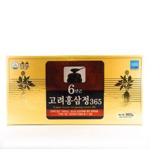 Cao hồng sâm 365 Hàn quốc 4 lọ
